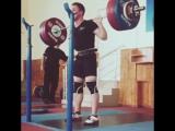 Vlad Starenky. Squats 180 kg