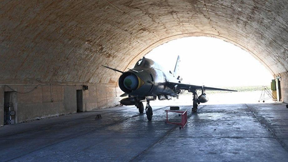 Сирия быстро восстановила свой аэропорт в Шайрате
