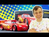 Мультики про машинки. Фёдор и Молния #МАКВИН: гонки с препятствиями! Игрушки для мальчиков