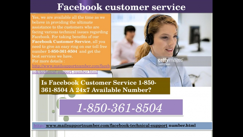 Facebook Customer Service 1-850-361-8504 – A Prompt Approach