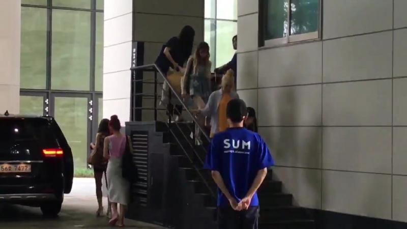 170723 Red Velvet leaving SUM COEX by sg_roal0323