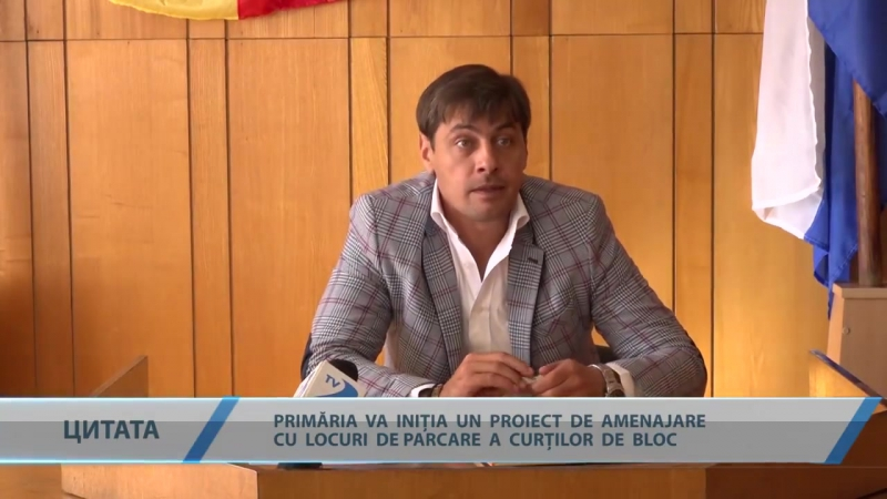 ȘEREMET - PRIMĂRIA VA INIȚIA UN PROIECT DE AMENAJARE CU LOCURI DE PARCARE A CURȚILOR DE BLOC