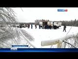 В Дмитровском районе обледеневшие деревья обрывают уже восстановленные ЛЭП