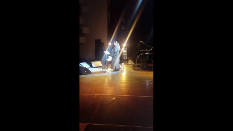 Концерт о.Фотия в Новосибирске