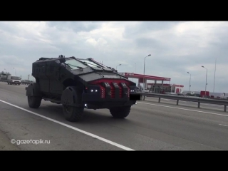 Мимо Каменска по трассе «Дон» прошла колонна «Карателей»