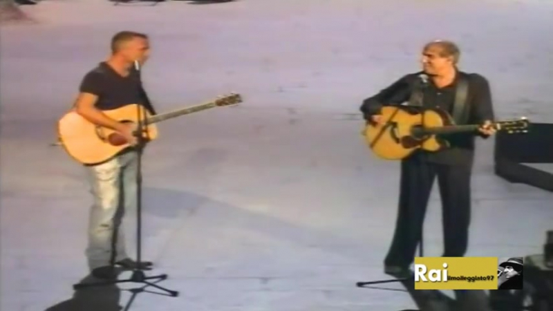 Adriano Celentano Eros Ramazzotti Il Ragazzo Della Via Gluck Rockpolitik 2005