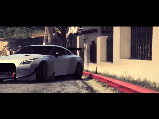 GTA 5 - Nissan GTR R35 Rocket Bunny Drift Montage