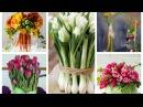Букет аппетитной морковки или кочан капусты вместо вазы для весенних цветов