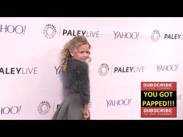 Giselle Eisenberg at the PaleyLive LA An Evening With Life In Pieces at The Paley Center For Media i
