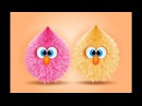 Illustrator funny hairy cartoon design in Adobe illustrator CC 2017