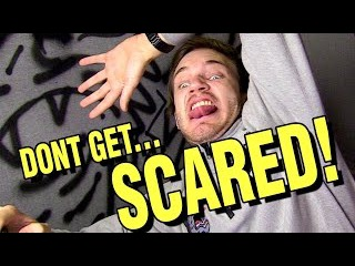 TRY NOT TO GET SCARED CHALLENGE!!