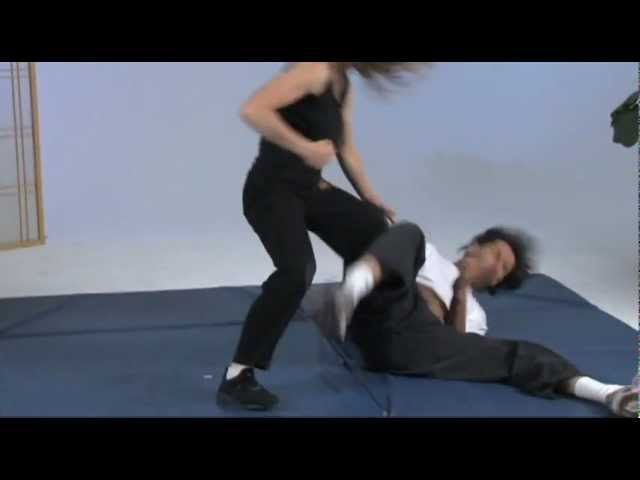 Kathy Long - Surprise Front Takedown For Self Defense