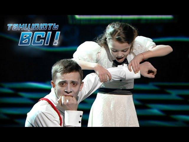 Влад Курочка и Ева Уварова Танцуют все Сезон 9 Второй прямой эфир