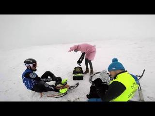 BACKSTAGE of THE SNOW CHALLANGE - SnowfFixed vs Ski vs Sled - bob - DAFNEFIXED