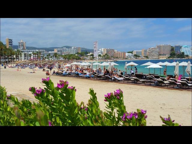 Пляж Магалуф Майорка Playa de Magaluf Mallorca