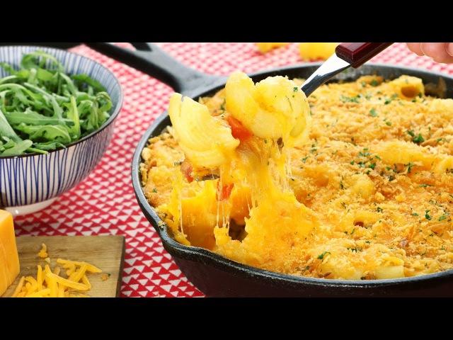 Хрустящие макароны в сыре