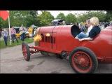 MAD FLAME THROWING 1913 Fiat S76 'Beast of Turin' at Prescott Hill Climb
