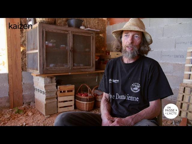 Les légumes de Pascal Poot poussent sans arrosage