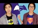 DIY Бэтмен Против Супермена! Футболки, чехлы, портфели!