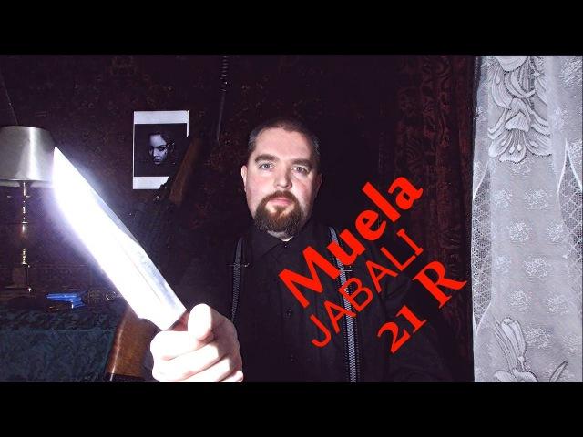 Суровый нож Muela Jabali 21 R