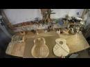 Гитара из досок старого дома Сделано из вторсырья