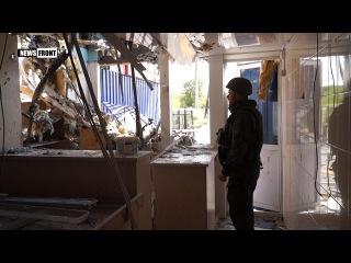 Украинские оккупанты обстреляли Спартак. 21 мая 2017