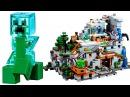 Лего Майнкрафт Горная пещера 21137 Видео обзор LEGO Minecraft 2017 The Mountain Cave
