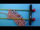Вязание на вилке для начинающих Урок 2