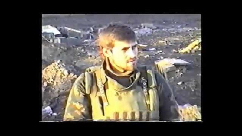 Чечня.Грозный февраль 1995.Сержант МП СФ Денис Мясоедов.