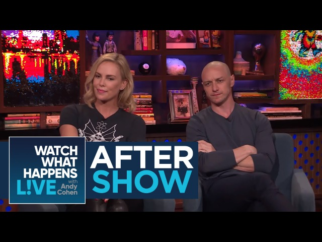 After Show: Charlize Theron And James McAvoy's 'Atomic Blonde' Injuries | WWHL
