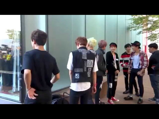 141023 MCountdown BEGINS 방탄소년단 BTS stand by
