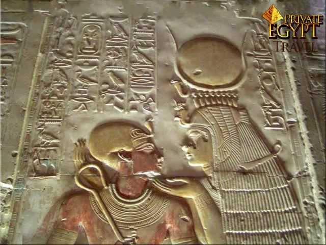 Templo de Abydos en Egipto