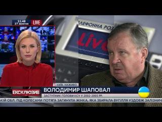 Проблема КСУ относительно закона об очищении власти - отсутствие политического решения, - Шаповал