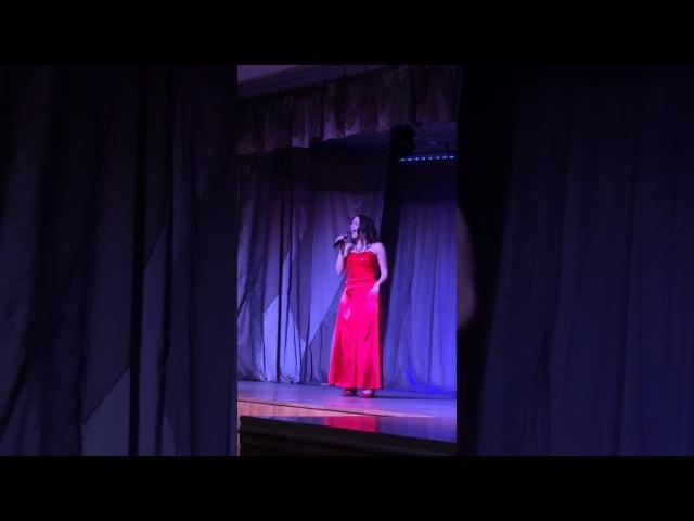 Юлия Михайлова - When you tell me that you love me (руководитель Васильева В.В.)
