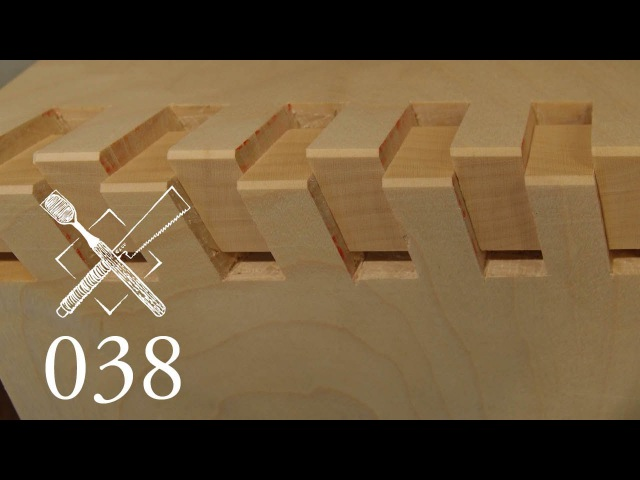 Joint Venture Ep. 38: Twisted box joint Ryonawa kumi tsugi (Japanese Joinery)