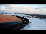 Фрирайд подушка - прыжки в Кувандыке