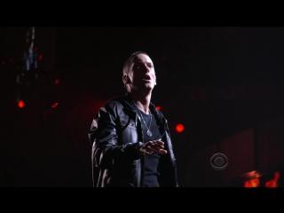 Eminem, dr.dre, rihanna & skylar grey - love the way you lie ii / i need a doctor(live at 53th grammy awards)(bdrip 1080p)[2011]