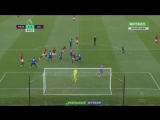 Manchester United-Leicester City(все 4 гола MU 24.09.2016)