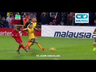 Ливерпуль - Арсенал 2:0 Мане 40'