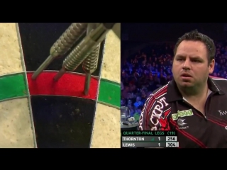 Adrian Lewis vs Robert Thornton (PDC Unibet Masters 2017 / Quarter Final)