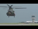 Royal Canadian Air Force CH 147F Chinook Heavy Lift Helicopter 1080p