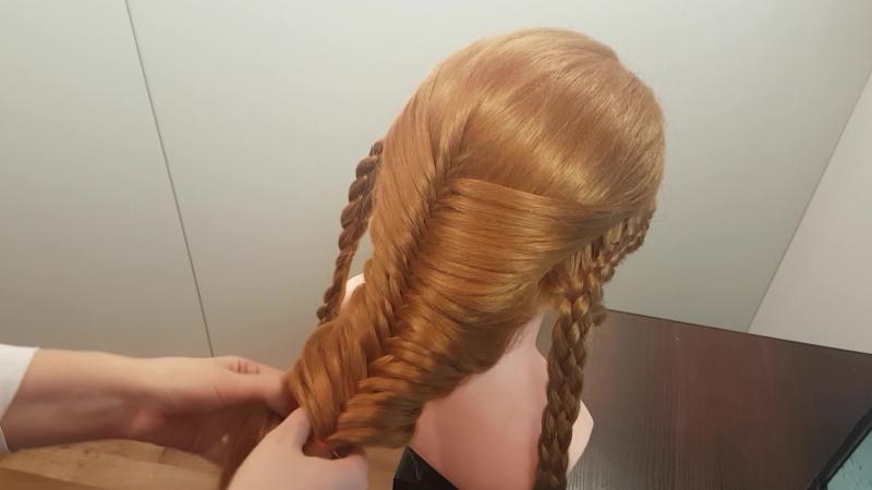 Плетение косичек для девушек пошагово