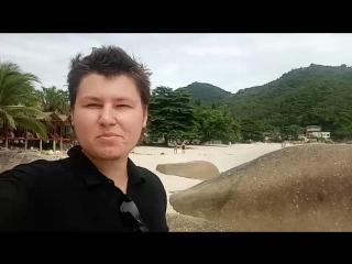 Прогулка по пляжу Самуи