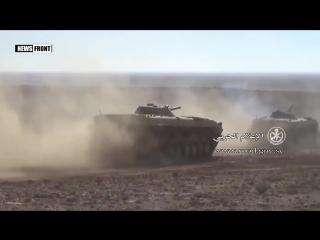 Армия Сирии наступает на террористов ИГИЛ в районе Пальмиры