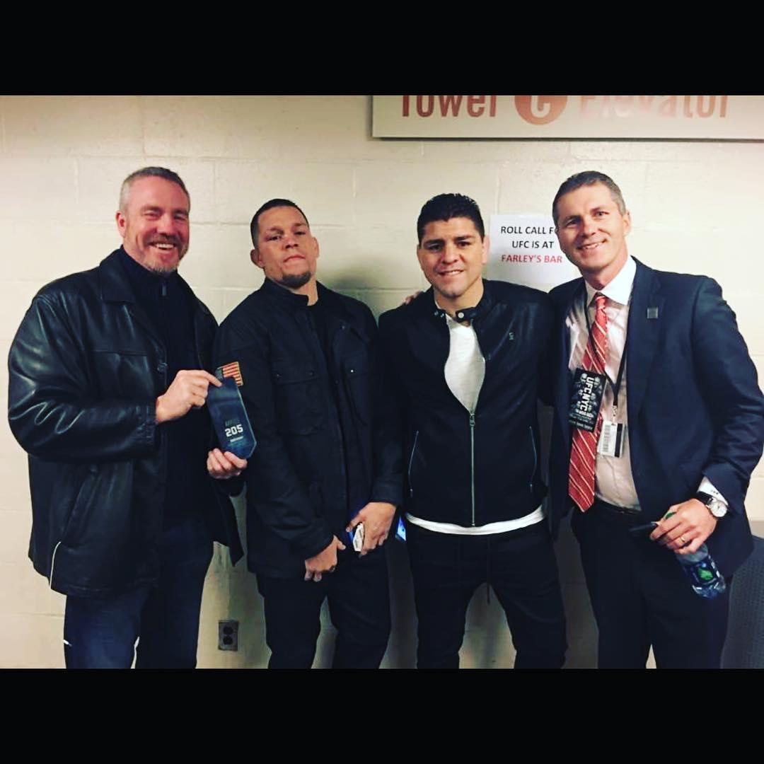 Братья Диазы на UFC 205 в Нью-Йорке