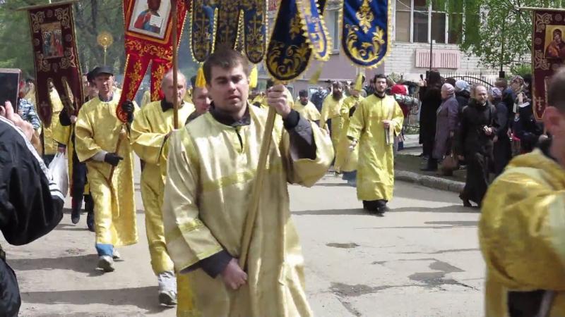 Великорецкий крестный ход 2017 Выход из Трифоновского монастыря