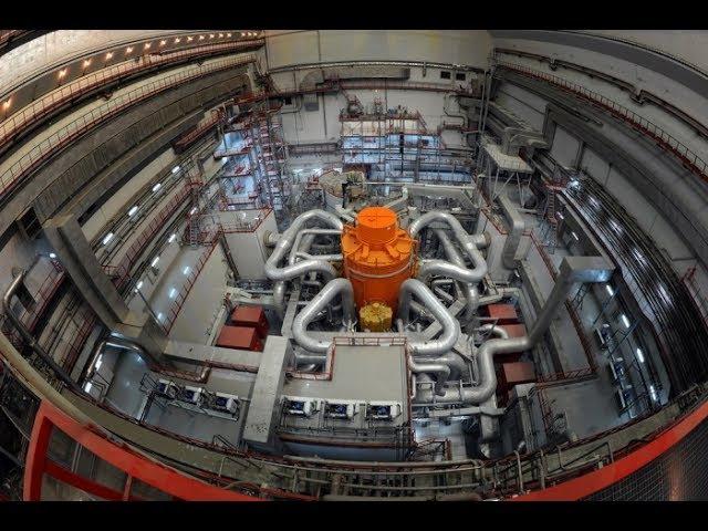Атомная станция как работает реактор.