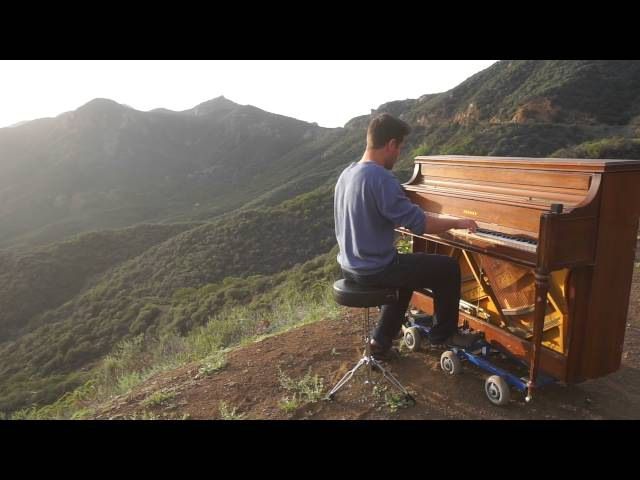 Piano in Santa Monica Mountains - Clarity by Dotan Negrin