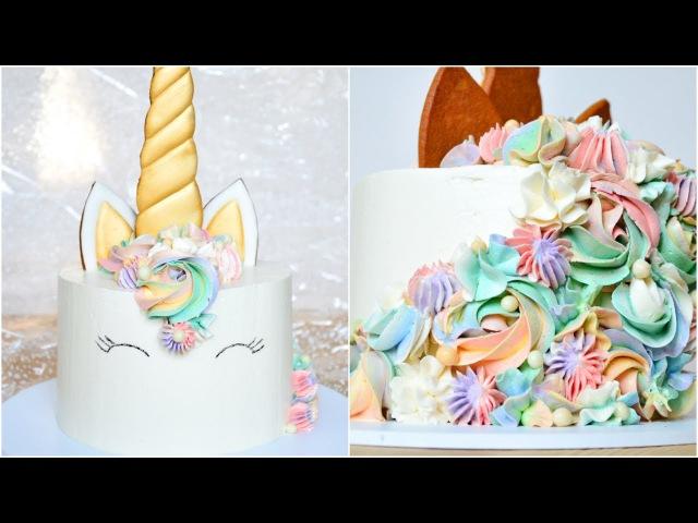 ТОРТ Единорог ☆ Радужный CandyBar ☆ Unicorn Cake