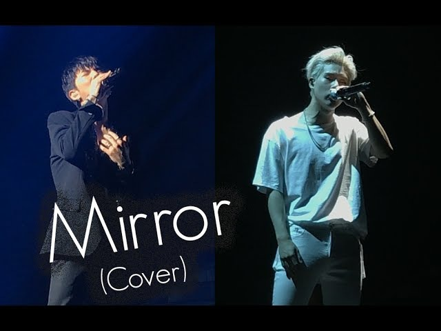 170723 [Beautiful in LA] MONSTA X (Kihyun.Jooheon)-Mirror